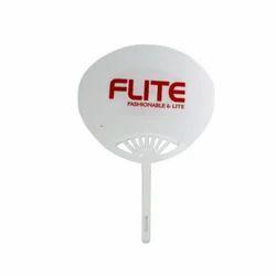 Flite (White) Hand Fan