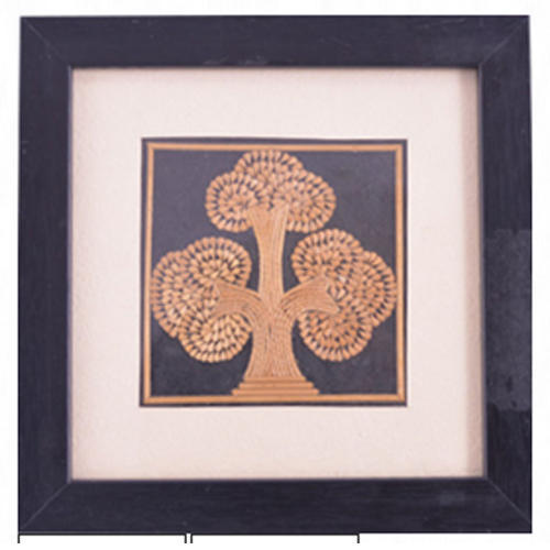 Tree Of Life With Frame Size Inches 18 X 18 X 1 Cm Rs 650