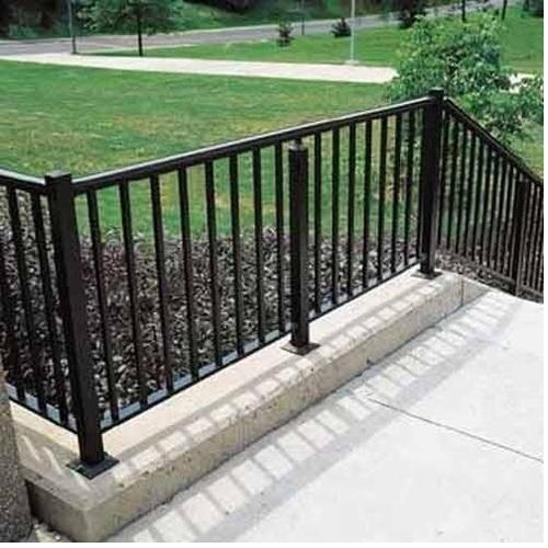 Open Stair Railing