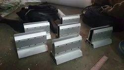 Silver Toughened Aluminium Railing System
