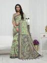 Pashmina Silk Printed Casual Wear Saree