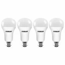 Aluminum Round Eveready LED Bulb, Base Type: B22