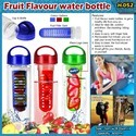 Fruit Flavour Water Bottle