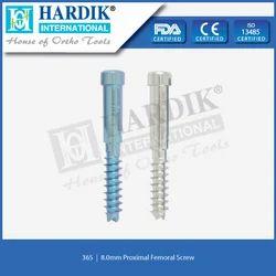 8.0mm Proximal Femoral Screw