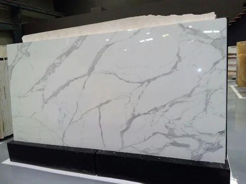 Vardhman White Italian Marble, Thickness: 18 mm, Application Area: Flooring