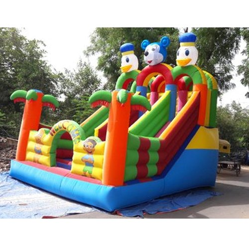 Inflatable Big Slide Jumping Bounce House, 7-11 Yrs, Rs 85000 /piece | ID:  20534297288
