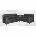 Nilkamal Black 6 Seater Raider Sofa Set