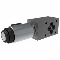 2/2 Directional Valve, Solenoid Operated, Poppet-Type, Blocking, Direct-Acting, Modular