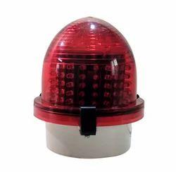 230volt Ac Flashing Solar Based Aviation Lamp, For Highway, 50 Hz