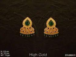 Polki Jewellery Earrings