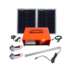 Solar DC Home Lighting System Box - Model 12V 14 AH