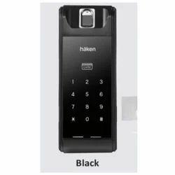 Black Haken HDL R32 Rim Lock, Aluminium