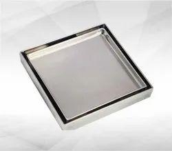 Square Tile Insert Floor Drain 150 x 150, For Bathroom