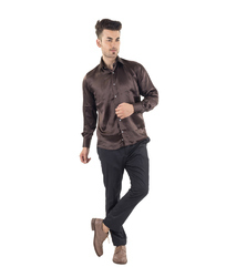 Scot Wilson Plain Silk Shirt
