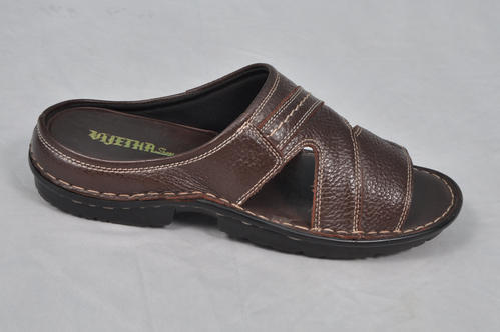 04160c50b Brown Vijetha Genuine Leather Sandals