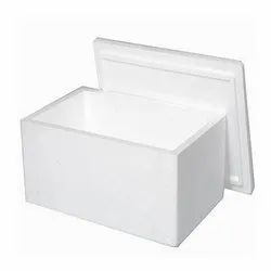 White Plain Thermocol Box for Packaging