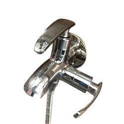 D'eaus Silver Color 2 in 1 Flush Water Tap