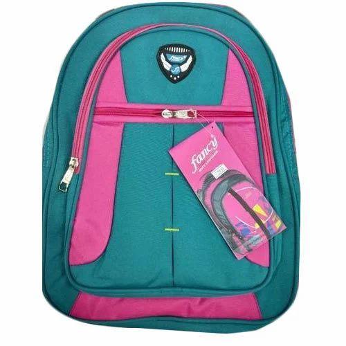Fancy Polyester Kids School Bag