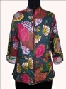 Indian Floral Quilted Jacket