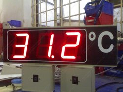 Temperature Display Board