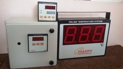 Online Infrared Temperature Measuring System