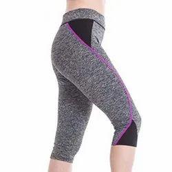 Cotton Ladies Sports Legging, Size: L