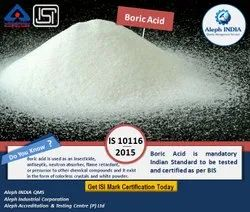 Isi Mark For Boric Acid