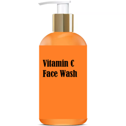 Orange Herbal Vitamin C Face Wash, Gel, Packaging Size: Bottle