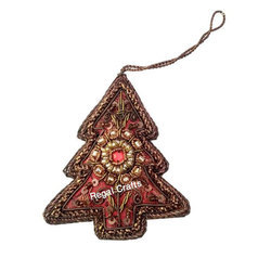 Embroidery X-Mas Decoration Hanging