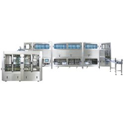 400 JPH Water Jar Filling Machine