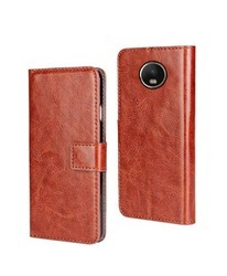 Moto G5 Play Mobile Flip Cover PU Leather