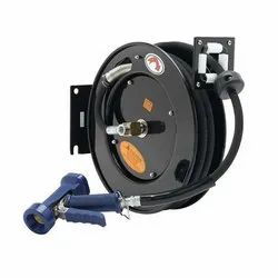 T&S Brass Hose Reel, Open, Powder Coated