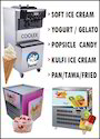 Rolly Fruit Ice Cream Machine