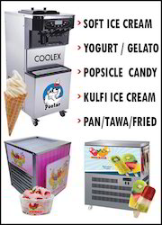 Rolly Fruit Ice Cream Machine