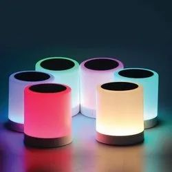 Portable Bluetooth Speaker with Smart Colour Changing Touch Mode Night Lamp