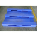 Plastic 3 Runner 4 Way Roto Moulding Pallet