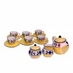 Printed Ceramic Tea Set