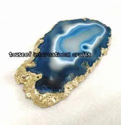 Blue Agate Platter