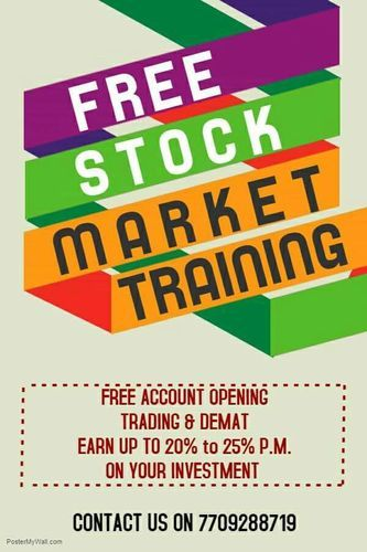 Service Provider of Free Share Market Course & Free Share