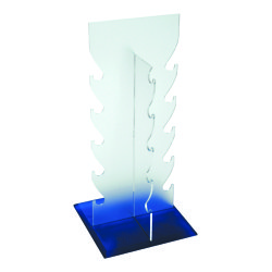 Optical Acrylic Counter Top Display Stand Rack