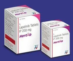 Hertab Lapatinib IP 250mg Tablets