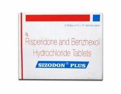 Sizodon Plus Tablet (Risperidone & Trihexyphenidyl)