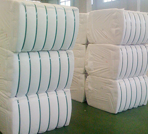 White Hollow Recycled Polyester Fiber Rs 52 Kilogram