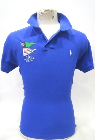 Blue Polo Mens Casual T-Shirt, Packaging Type: Packet