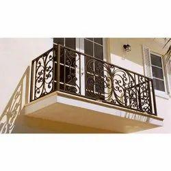 Wrought Iron Balcony Grill