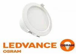 Round Osram LED Down Light ECO 12W Warm White