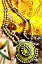 Temple Terracotta Paisley Necklace Set