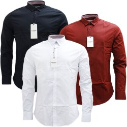 Multi Brand Multicolor Branded Plain Shirts, Size: M L Xl