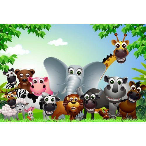 animals cartoon wallpaper - Kids Cartoon Animals