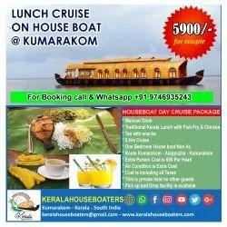 Lunch Cruise On House Boat At Kumarakom